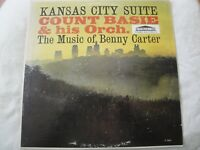 COUNT BASIE & HIS ORCH. KANSAS CITY SUITE THE MUSIC OF BENNY CARTER VINYL LP VG+