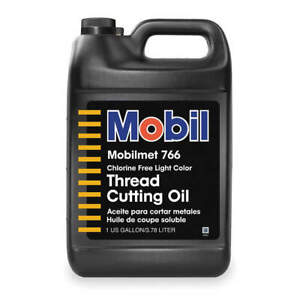 MOBIL 103479 Mobilmet 766, Cutting Oil, 1 gal