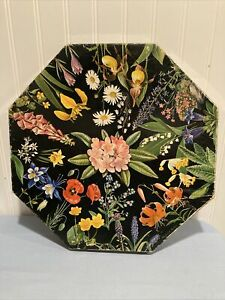 1968 Springbok Okta Jigsaw Puzzle Romance of the Flowers Maynard Reece Octagon