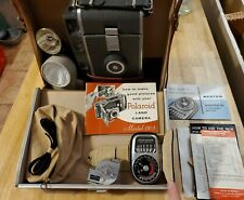 VINTAGE POLAROID 110A  Professional Camera with lighting kit and meter, manuals