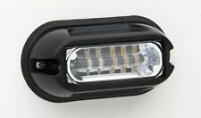 Whelen  LINZ6C Linear Super-LED Lighthead with Black Flange, CLEAR/WHITE /PAIR
