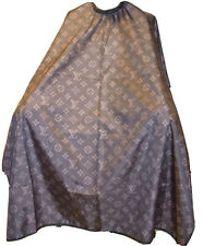 """Brown Barber Hair Cutting and Styling Cape 55""""X60"""" (Clips)"""