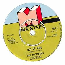 """Dan McCafferty - Out Of Time - 7"""" Record Single"""