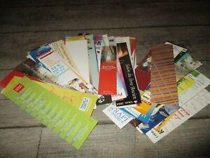 Marque pages-Lot de 89 collectors-Salons du livre,bibliothèques,librairies...