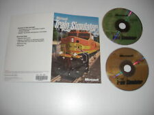 Microsoft TRAIN SIMULATOR base game - 2 disks in Card sleeve Pc Cd Rom