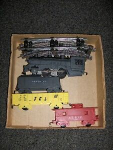 MARX Santa Fe Battery Operated Train Set  2515 O Gauge Vintage