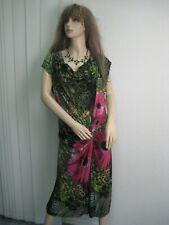 💖DESIGUAL💖Attraktives Kleid Figurschmeichler mehrfarbig floral  XL = 42 ungetr