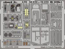 Eduard Accessories ss272 - 1:72 BF 109k-4 pour Fine Molds Kit-Ätzsatz-Neuf