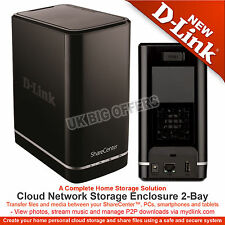 D-Link ShareCenter 2 Bay Cloud Network Storage Enclosure DNS-320L