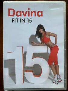 Davina Power Fit in 15 DVD Exercise Heath Fitness Routines