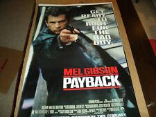 Original Movie Poster PAYBACK  1998