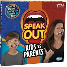 Hasbro Family Fun Game - SPEAK OUT KIDS VS PARENTS