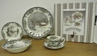 Johnson Brothers Friendly Village 5 Place Setting, Bowls, Plates, Tea Cups Sets