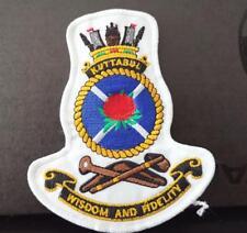 HMAS Kuttabul RAN Officer's Uniform Cap / Jacket Patch
