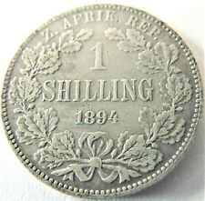 1894 ZAR SOUTH AFRICA, 1 Shilling grading VERY FINE.