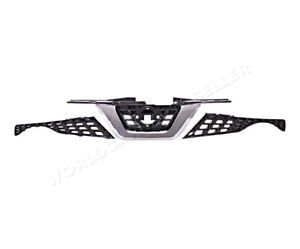 Front Centre Grille Grill With Camera Hole for NISSAN JUKE 2014-2017