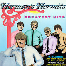 "HERMAN'S HERMITS, CD ""GREATEST HITS"" NEW SEALED"