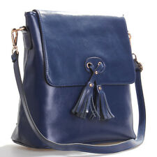 Blue Italian Leather Handbags, Purse Hobo Bag, Satchel