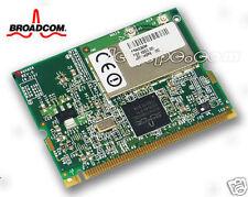 Broadcom Mini PCI inalámbrico B/G 54mbps Tarjeta DELL TOSHIBA
