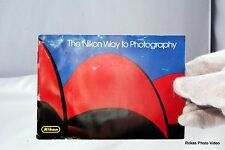 """Camera F3 """"The Nikon Way to Photography"""" Manual Booklet Guide (EN) Accessory"""