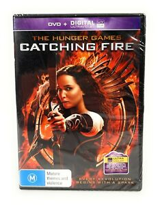 The Hunger Games: Catching Fire (DVD, 2013) Jennifer Lawrence New & Sealed R4