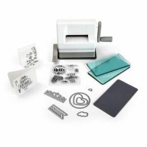 Sizzix Sidekick Starter Kit 22 tlg. Stanz- und Prägemaschine White & Gray 661770