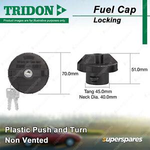 Tridon Locking Fuel Cap Plastic 40.0mm for Ford Focus LS LT - LV 2.0L - 2.5L