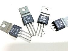 2SC1096 NPN Silicon Transistor for Audio Frequency  LOT OF 2