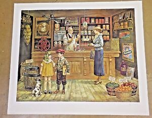Unframed Limited Edition Print of Lee Dublin's The Grocery Store""