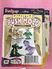 Sculpey flexible push mold CHOMPERS APM13