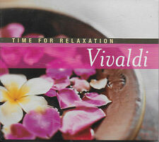 Time For Relaxation - Vivaldi - 2 x CD compilation - 2006  NEW SEALED - FREEPOST