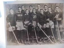 1912 YALE HOCKEY TEAM ENLARGED 16 X 20 PHOTO, NEW HAVEN, CONNECTICUT