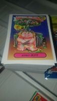 GARBAGE PAIL KIDS 30TH ANNIVERSARY (2015) COMPLETE SET 220 CARDS + WRAPPER