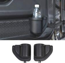 Door Pocket Front Door Storage Box Net for 2018-2020 Jeep Wrangler JL JLU Black