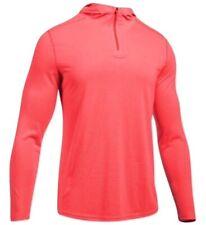 Under Armour Men's Threadborne Knit Hoodie Marathon Red Large 1301586-963