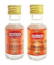 Preema - Preema Coconut Essence 28ml - Preema Orange Essence 28ml (2 Pack)