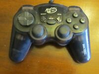 MAD CATZ DUAL FORCE CONTROLLER Black Playstation 2 PS2 #8016 COMPLETE