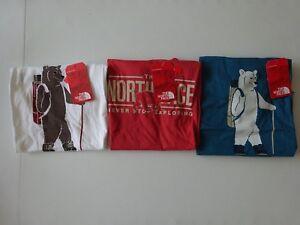 North Face Men's Short Sleeve Walking Bear Tee NWT