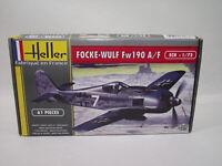 Maquette HELLER FOCKE-WULF Fw 190 A/F 1:72 scale kit 1/72 61 piece Joustra 80235