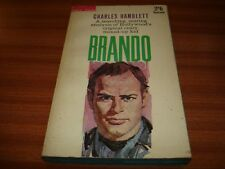 BRANDO BY CHARLES HAMBLETT VINTAGE PAPERBACK MARLON BRANDO