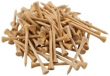 "PGA Approved Professional Bamboo Golf Tees 2-3/4 "" Almost Unbreakable 1000 Pack"