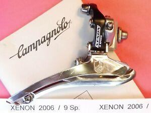 Campagnolo Xenon 2006 ( 9 x 2 Br / on ) Front derailleur mech -  NOS