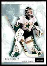 2002-03 Upper Deck Mask Collection Marty Turco Ron Tugnutt #27