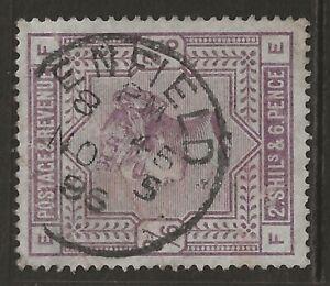 GB 1883 2/6 lilac used w/ fine ENFIELD (Middlesex) cancel/postmark SG#178 cv£160