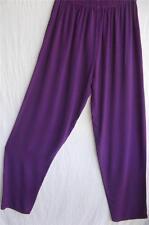 TIENDA HO~Purple~MOROCCAN COTTON SONYA tapered PANTS~Totokaelo~Free(M L XL1X?)