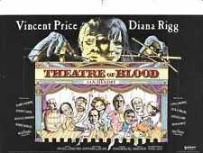 Theatre Of Blood Poster 02 Metal Sign A4 12x8 Aluminium