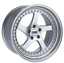 """18"""" ESM 011 Wheels 5x114.3 18x10.5 +22 18x9.5 +22 Nissan 350z 370z Infinity"""