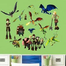 How to Train Your Dragon Removable Kids Boy Room Wall Sticker Decal Decor Art