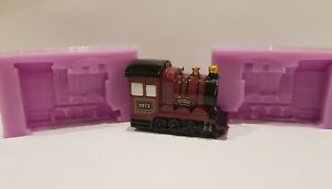 HARRY POTTER INSPIRED HOGWARTS EXPRESS 3D SILICONE MOULD FOR CAKE TOPPERS ETC