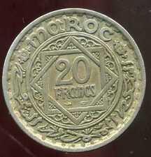 MAROC 20 francs 1366   ( bis )